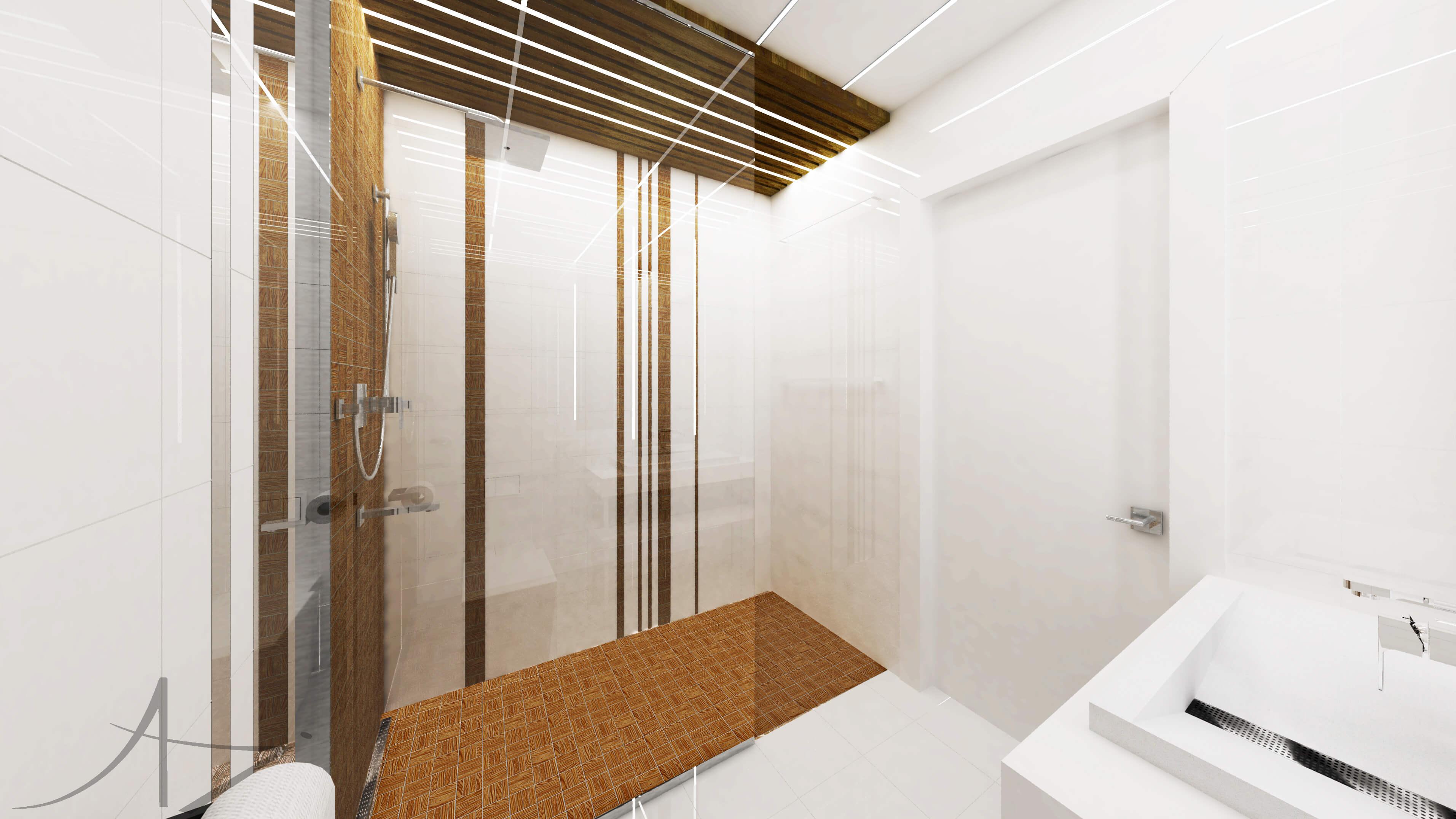 Projekt wnętrza - łazienka - Gdynia, Gdańsk, Sopot, Trójmiasto, Koszalin